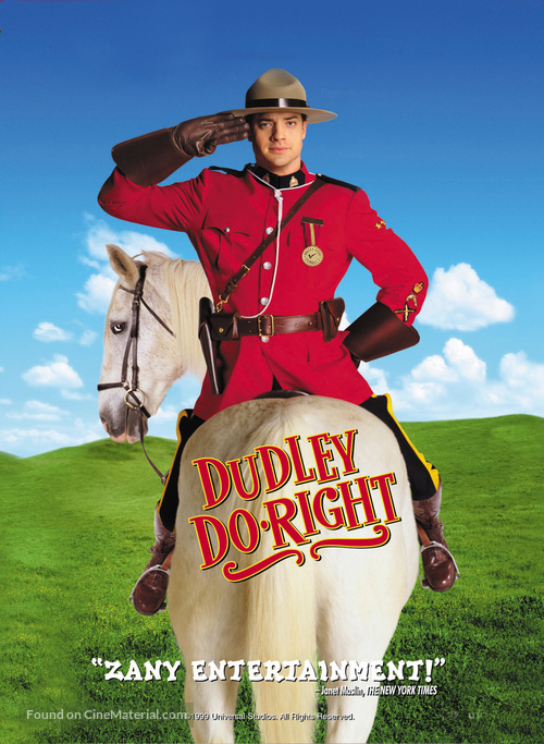 Dudley Do-Right - DVD movie cover