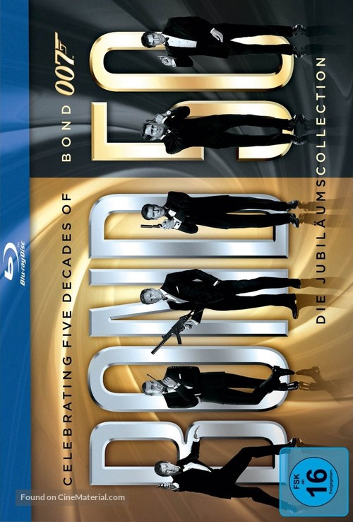 Quantum of Solace - German Blu-Ray movie cover