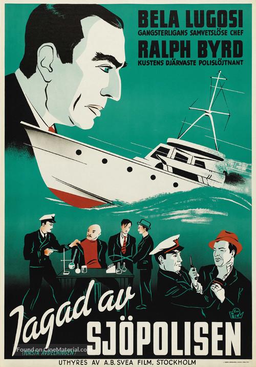 S.O.S. Coast Guard - Swedish Movie Poster