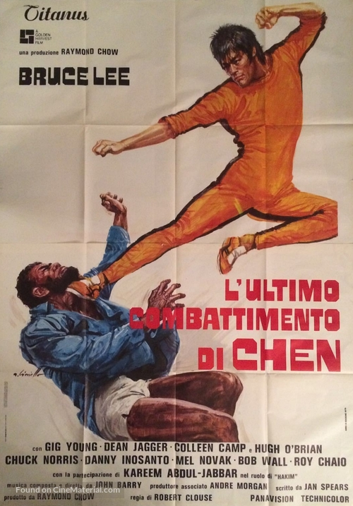 Game Of Death - Italian Movie Poster