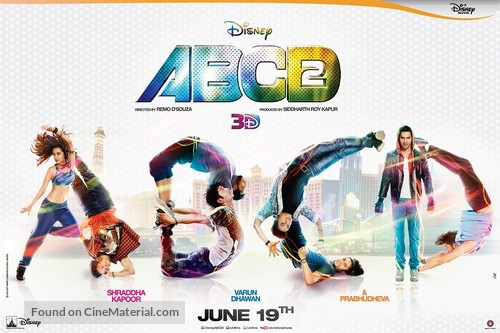 Any Body Can Dance 2 - Indian Movie Poster