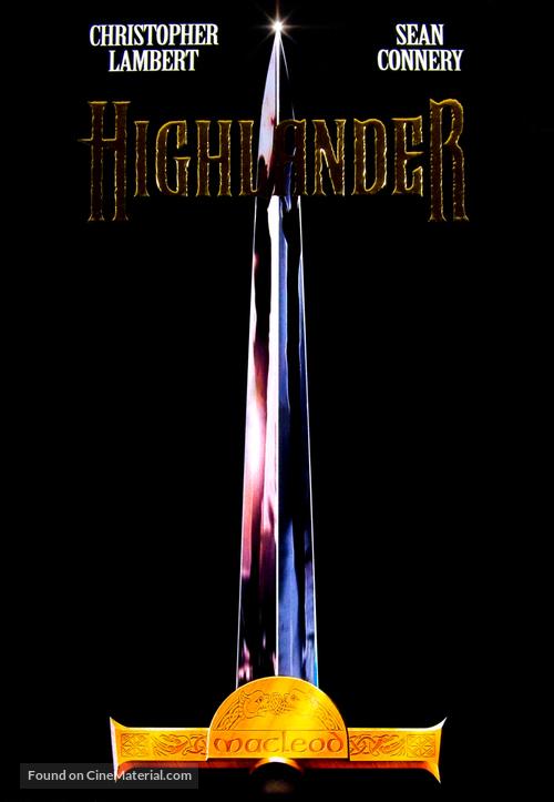 Highlander - Movie Poster