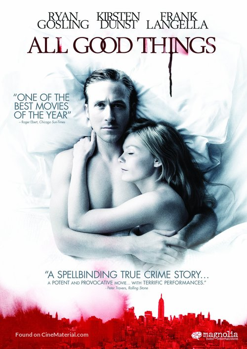 All Good Things - DVD movie cover