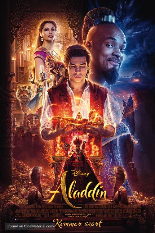 Aladdin - Danish Movie Poster
