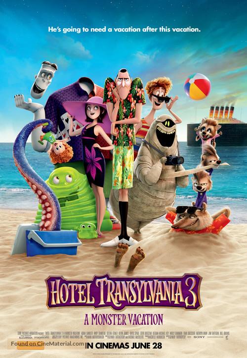Hotel Transylvania 3 - Australian Movie Poster