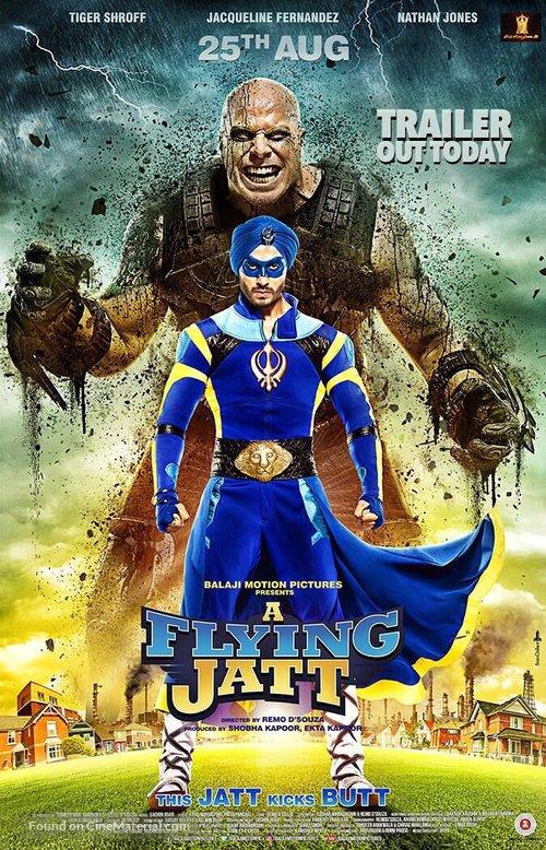 A Flying Jatt - Indian Movie Poster