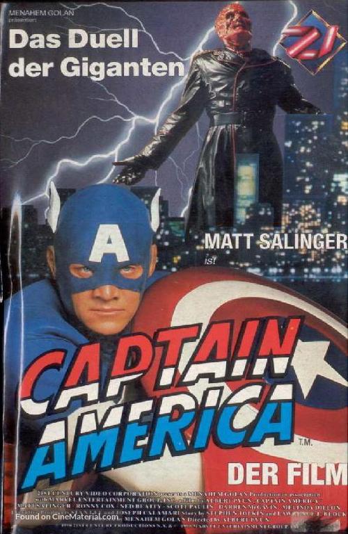 Captain America - German Movie Poster