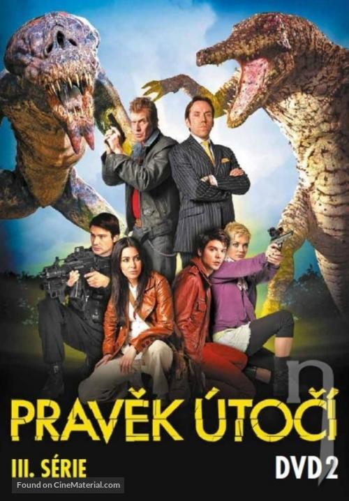 """""""Primeval"""" - Czech DVD movie cover"""