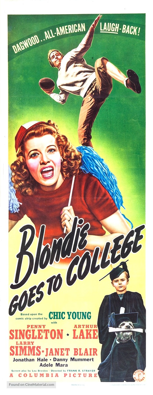 Blondie Goes to College - Movie Poster