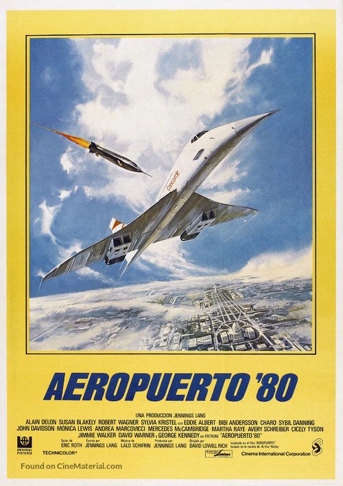 The Concorde: Airport '79 - Spanish Movie Poster