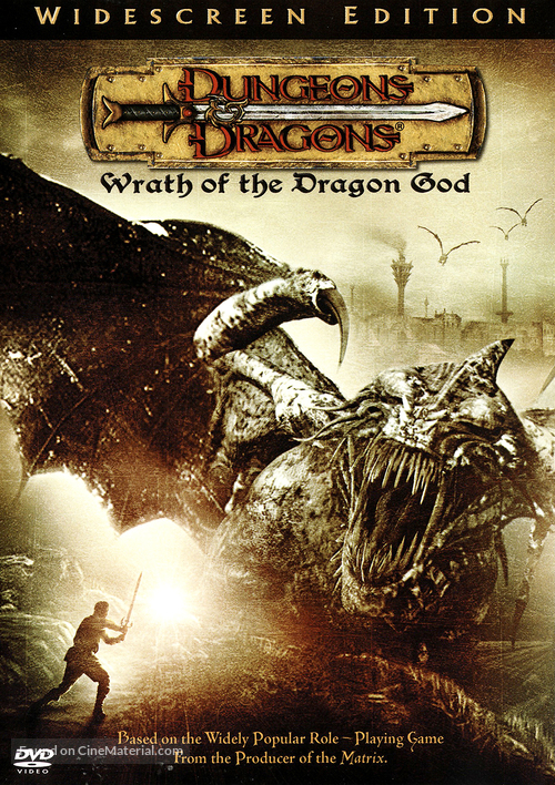 Dungeons And Dragons 2 - DVD movie cover