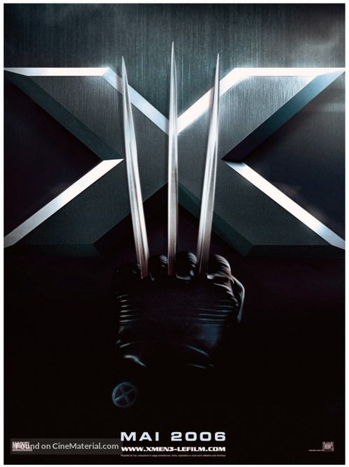 X-Men: The Last Stand - French Movie Poster