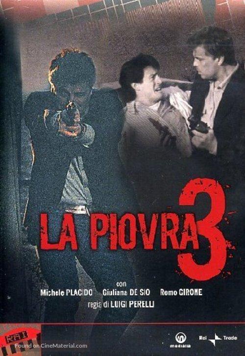 """""""La piovra 3"""" - Italian Movie Cover"""