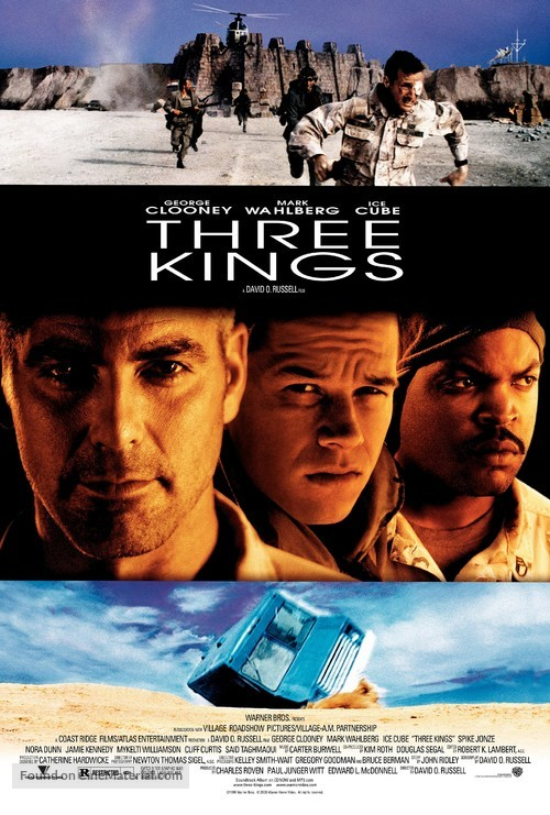 Three Kings - Movie Poster