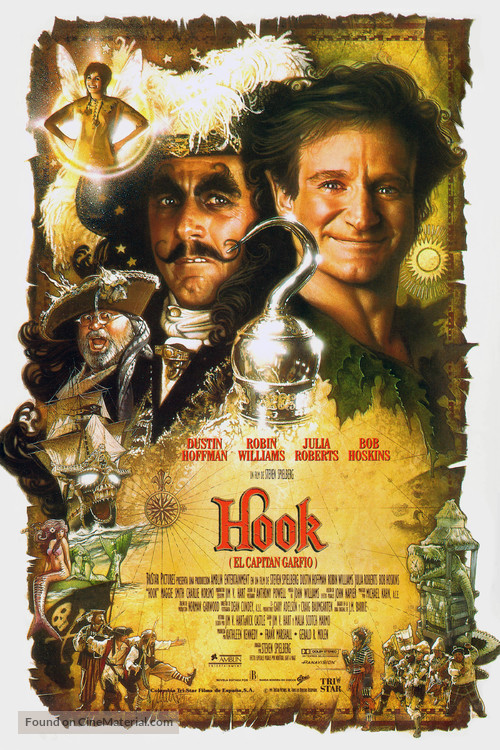 Hook - Spanish Movie Poster