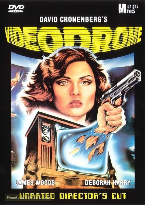 Videodrome - German DVD movie cover