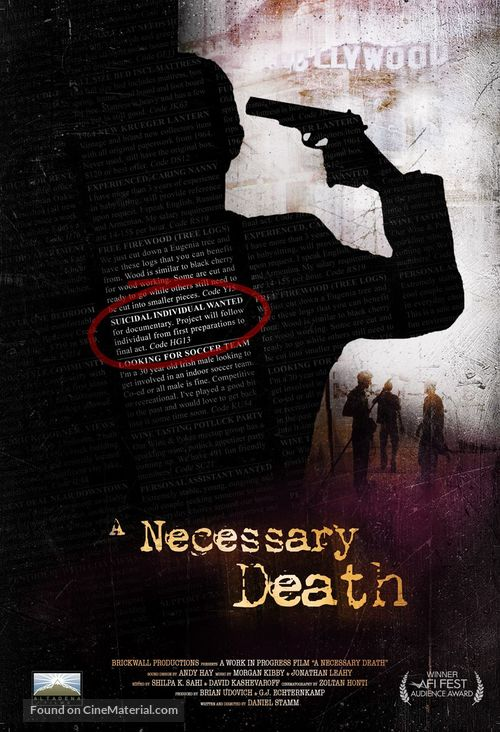 A Necessary Death - Movie Poster
