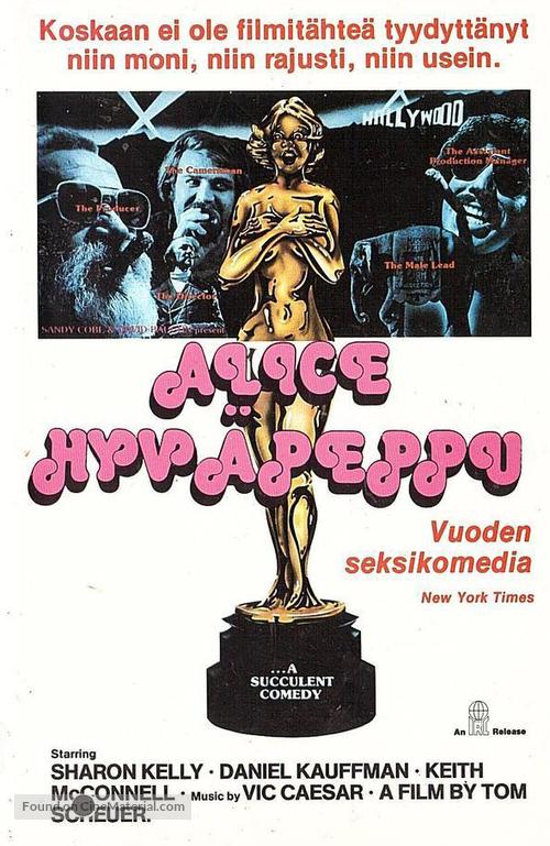 Alice Goodbody - Finnish VHS movie cover