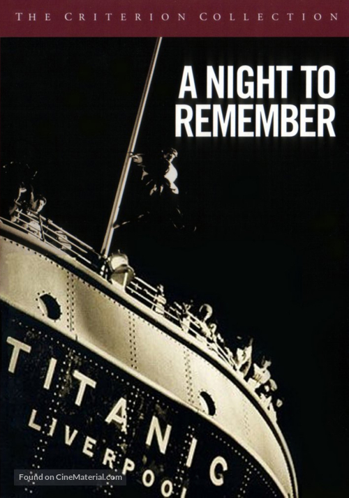 A Night to Remember - DVD movie cover