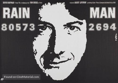 Rain Man - Polish Movie Poster