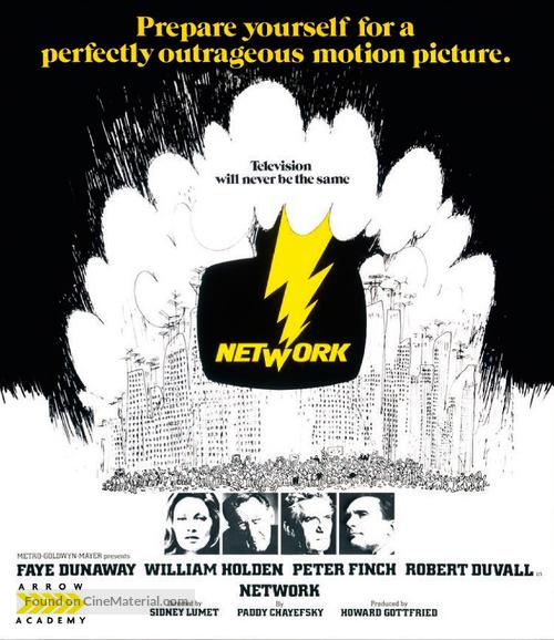 Network - British Blu-Ray movie cover