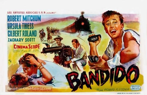 Bandido - Belgian Movie Poster