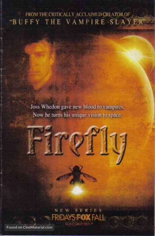 """""""Firefly"""" - Movie Poster"""