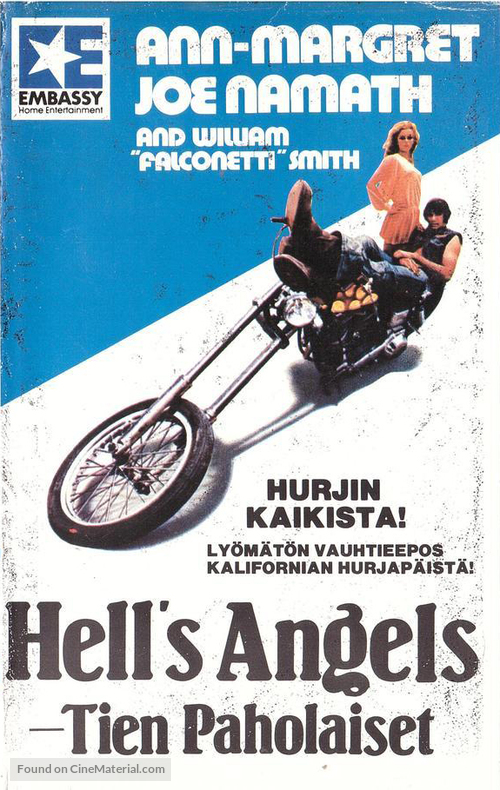 C.C. and Company - Finnish VHS movie cover