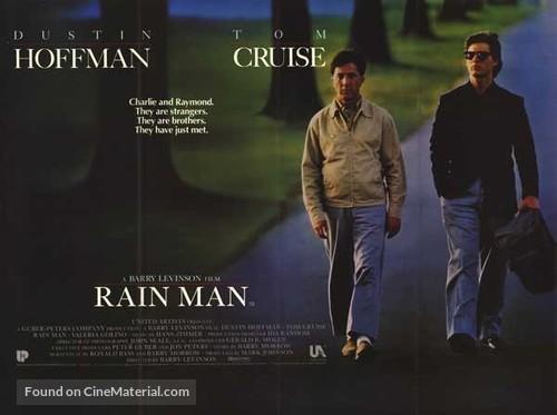 Rain Man - British Movie Poster