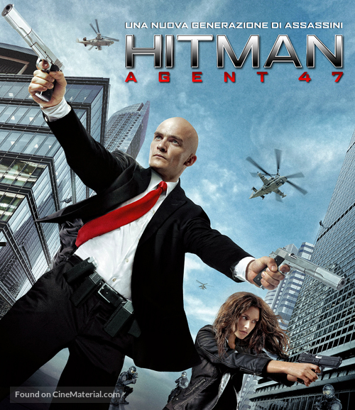 Hitman Agent 47 2015 Italian Movie Cover