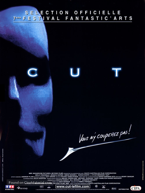Cut - French Movie Poster