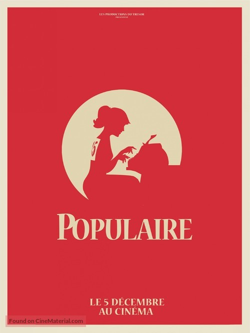 Populaire - French Movie Poster