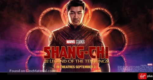 Shang-Chi and the Legend of the Ten Rings - Canadian Movie Poster