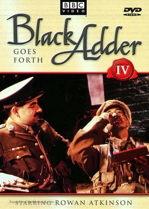 """Blackadder Goes Forth"" - poster"