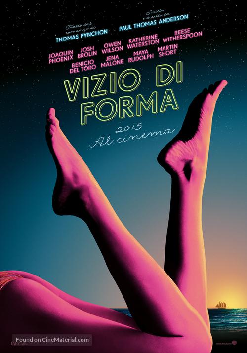 Inherent Vice - Italian Movie Poster