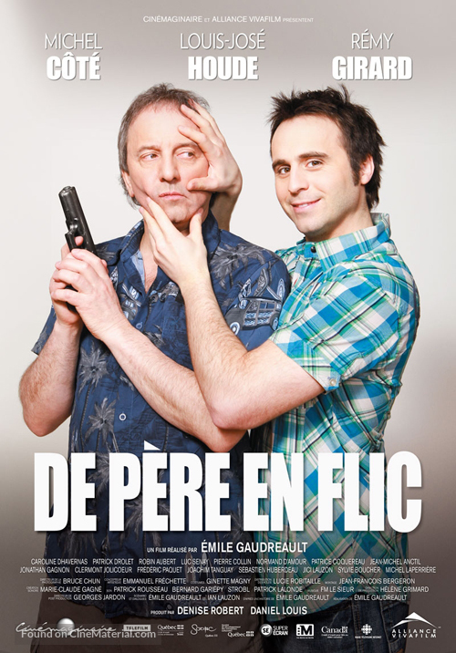 De père en flic - Canadian Movie Poster