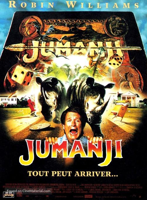 Jumanji - French Movie Poster
