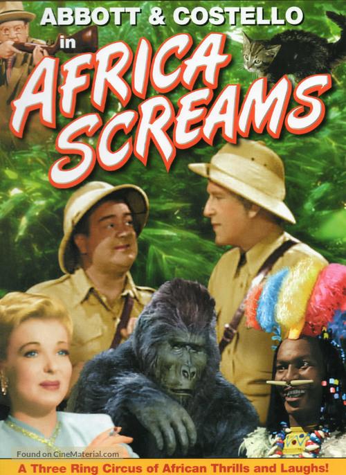 Africa Screams - DVD movie cover