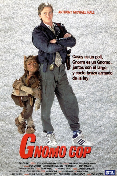 A Gnome Named Gnorm - Spanish Movie Poster