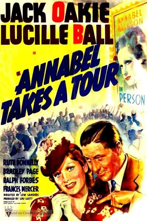 Annabel Takes a Tour - Movie Poster