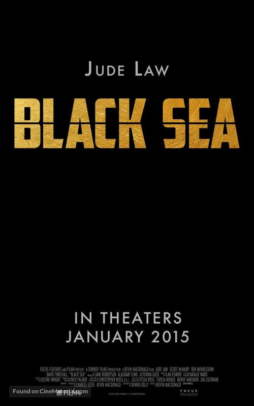 Black Sea - Movie Poster