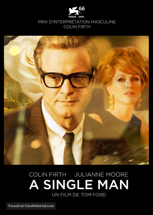 A Single Man - French Movie Poster