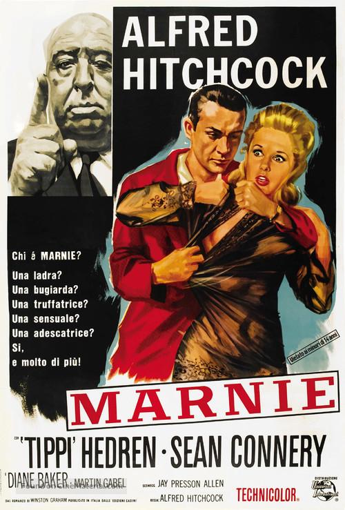 Marnie - Italian Movie Poster