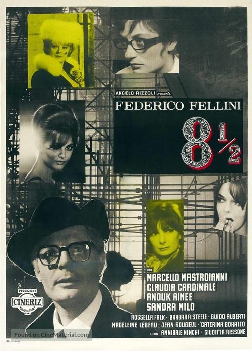 8½ - Italian Movie Poster