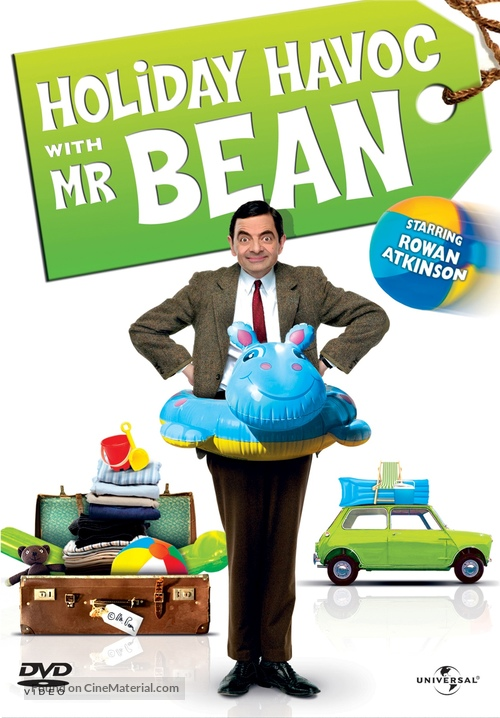 Mr Bean S Holiday 2007 Greek Movie Cover