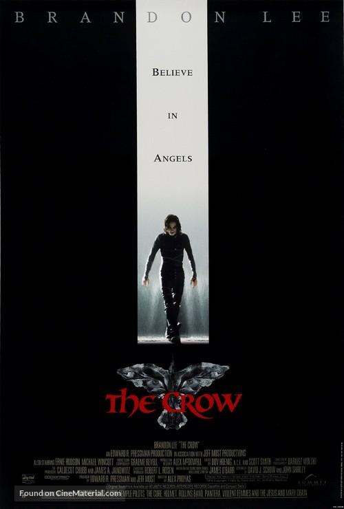 The Crow - British Movie Poster