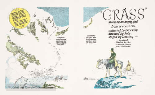Grass: A Nation's Battle for Life - poster