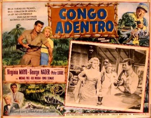 Congo Crossing - Mexican poster