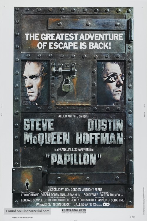 Papillon - Movie Poster