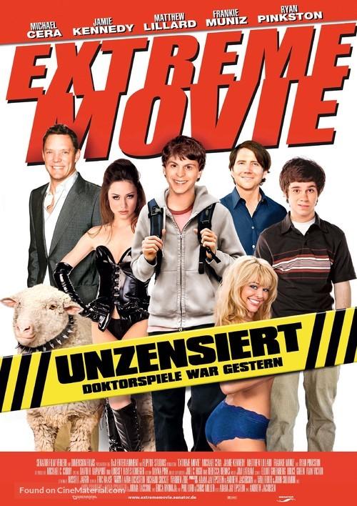 Extreme Movie - German Movie Poster
